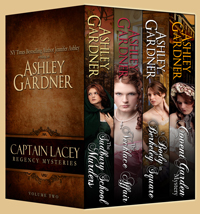 Captain Lacey Regency Mysteries Vol 2