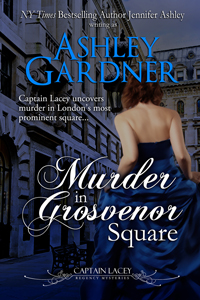 Murder in Grosvenor Square cover