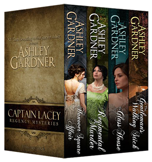 Captain Lacey Regency Mysteries, Vol. 1 Book Cover