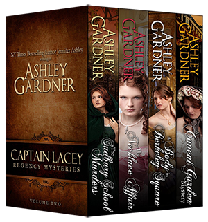 Captain Lacey Regency Mysteries, Vol. 2 Book Cover