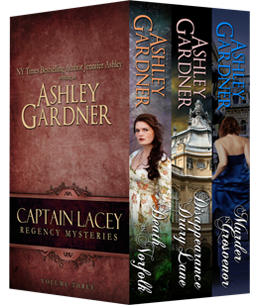 Captain Lacey Regency Mysteries, Vol. 3 Book Cover
