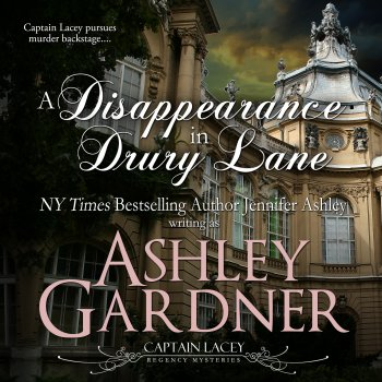 A Disappearance in Drury Lane audiobook by Ashley Gardner
