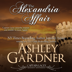 The Alexandria Affair audiobook by Ashley Gardner